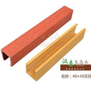 生态木长城板安装示意图