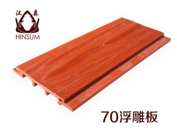 生态木70浮雕板